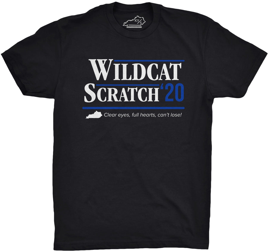 Wildcat Scratch 2020 Tshirt Black