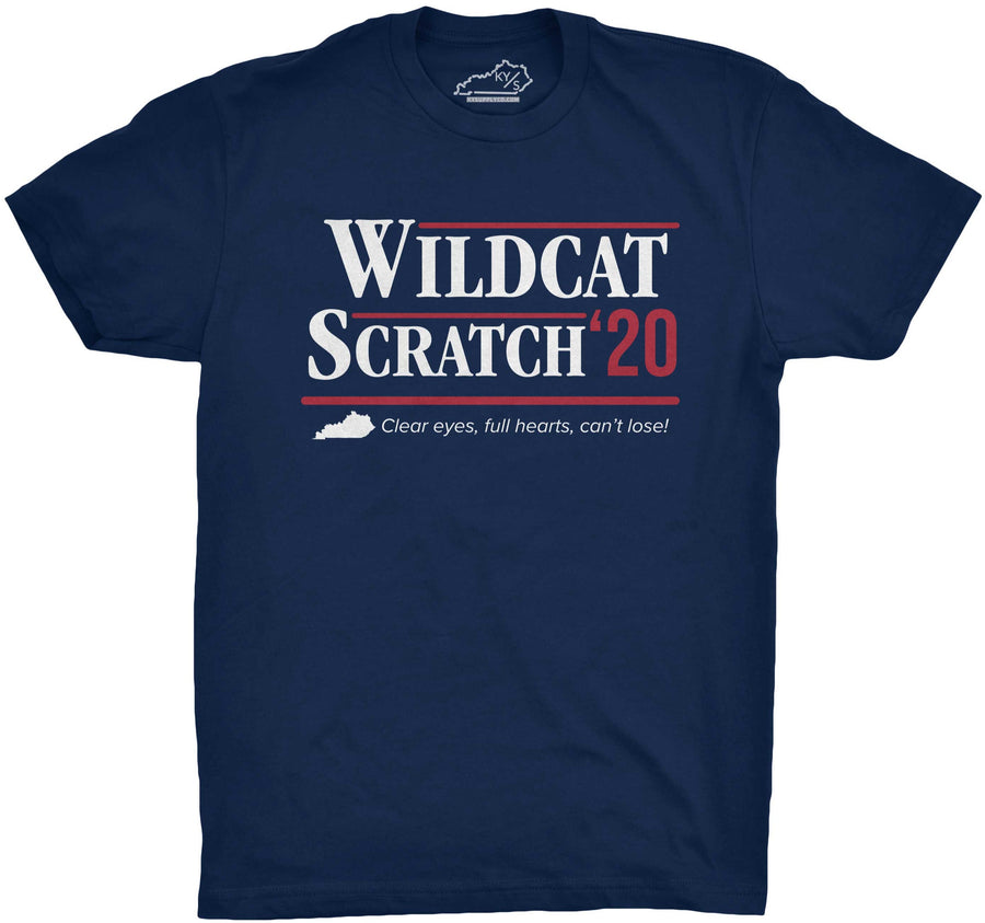 Wildcat Scratch 2020 Tshirt Navy