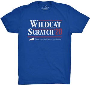 Wildcat Scratch 2020 Tshirt Royal