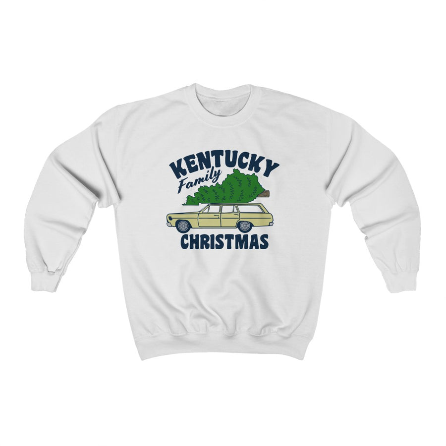 KENTUCKY FAMILY CHRISTMAS SWEATSHIRT