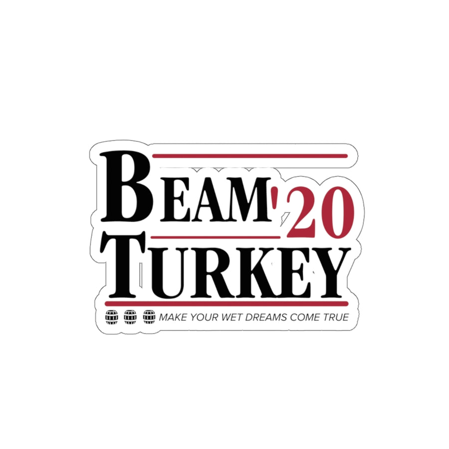 BEAM TURKEY 2020 KISS-CUT STICKER