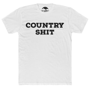 COUNTRY SHIT TSHIRT