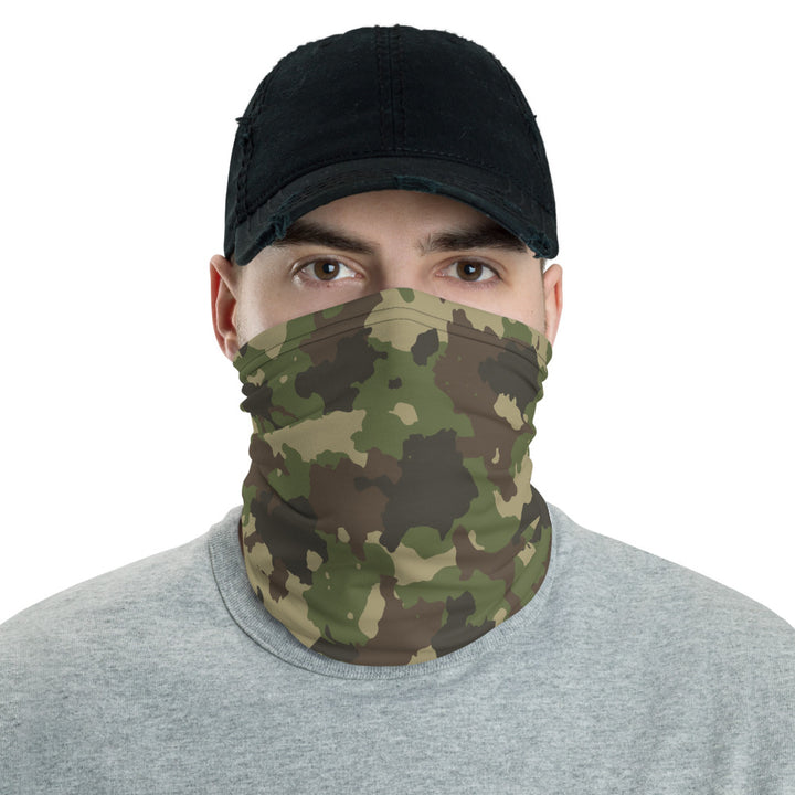 COVERED IN CAMO NECK GAITER