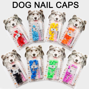 20pcs Soft Nail Caps for Dogs (PLUS EXTRAS)