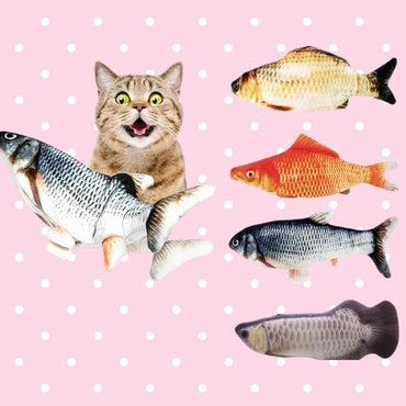 USB Rechargeable Flopping Fish Toy for Cats  - Fast Shipping!