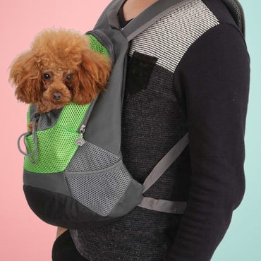Portable Pet Mesh Backpack