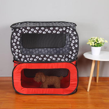 Foldable Soft Pet Crate