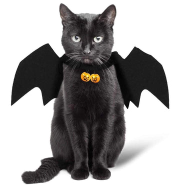 Black Bat Cat Wings