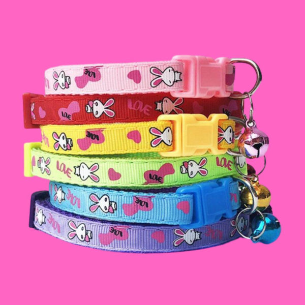Cute Cartoon Bell Collar - Farm City Pets