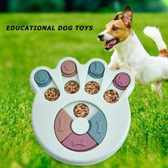 Educational Slow Feeder Bowl Educational Slow Feeder Bowl FarmCityPets