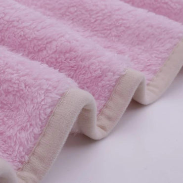 Extra Thick Lined Fleece Blanket