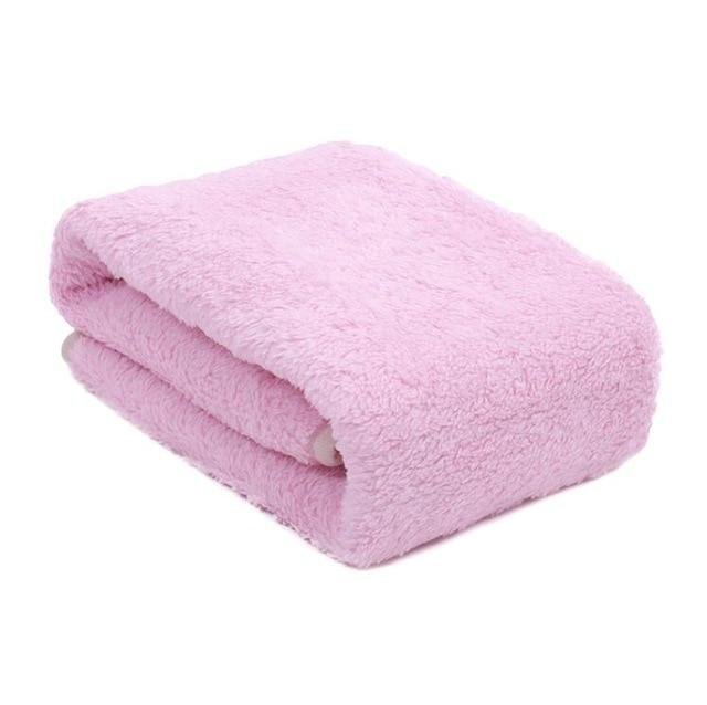 Extra Thick Lined Fleece Blanket - FarmCityPets