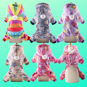 Fashion Fleece Jumpsuit Range for Cats