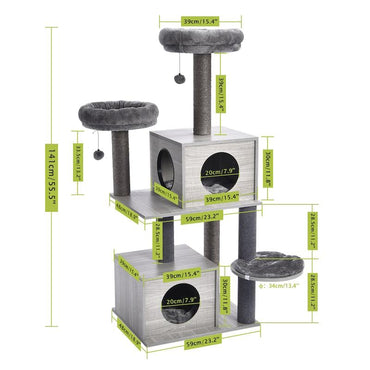Gray - Ultimate Cat Tree Range - US stock! (LIMITED TIME)
