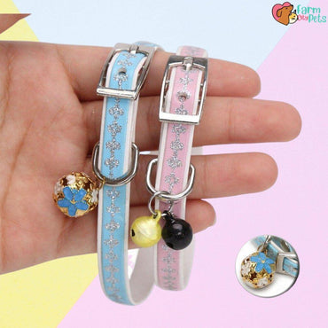 Pretty Cat Pastel Bell Collar