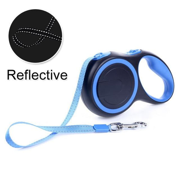 Reflective Retractable Lead - FarmCityPets