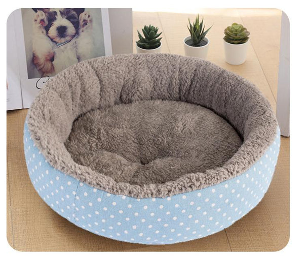 Snoozy Cat Nest Bed (100% Cotton) - FarmCityPets
