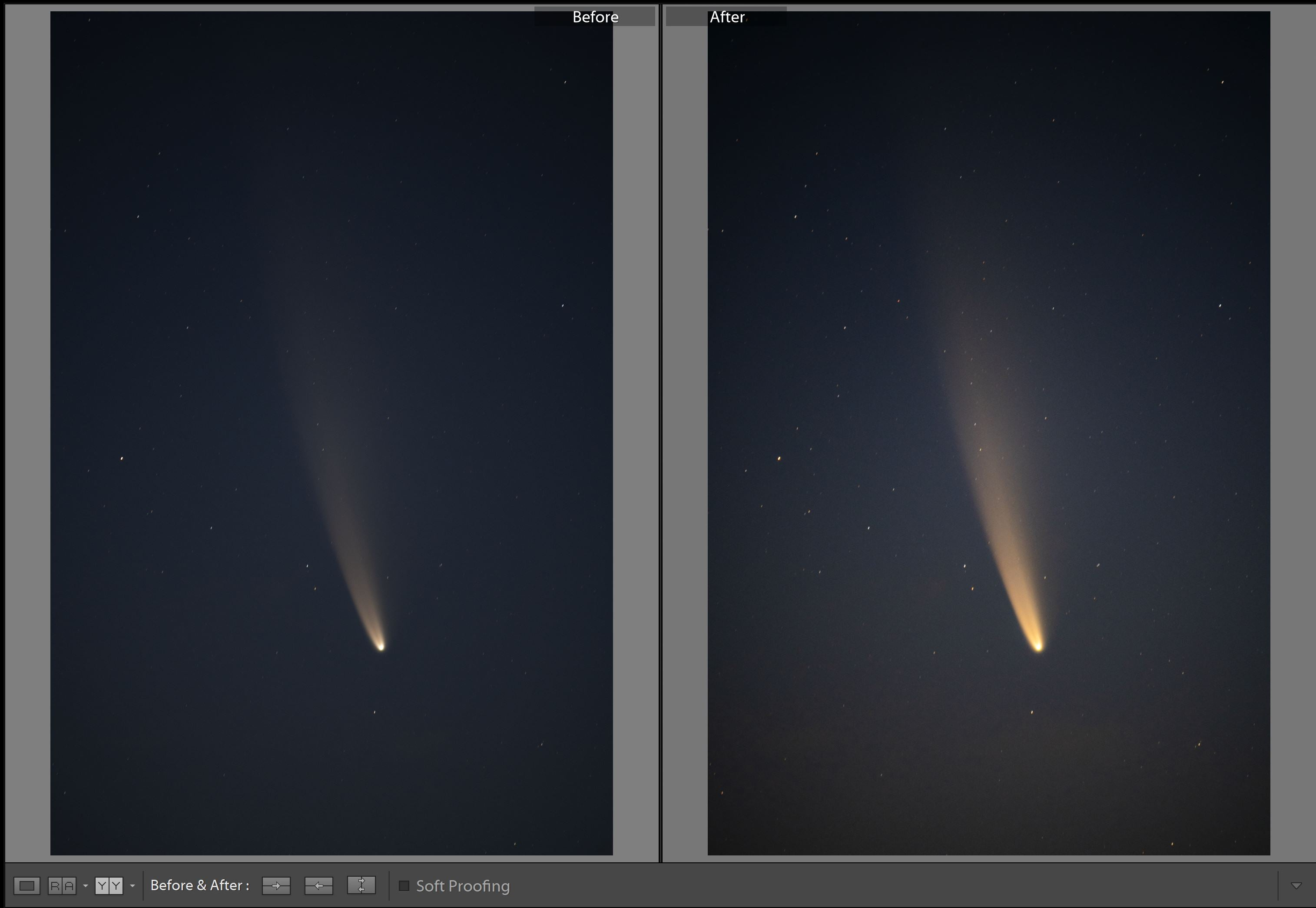 Comet Chase - Astrophotography Presets for Lightroom