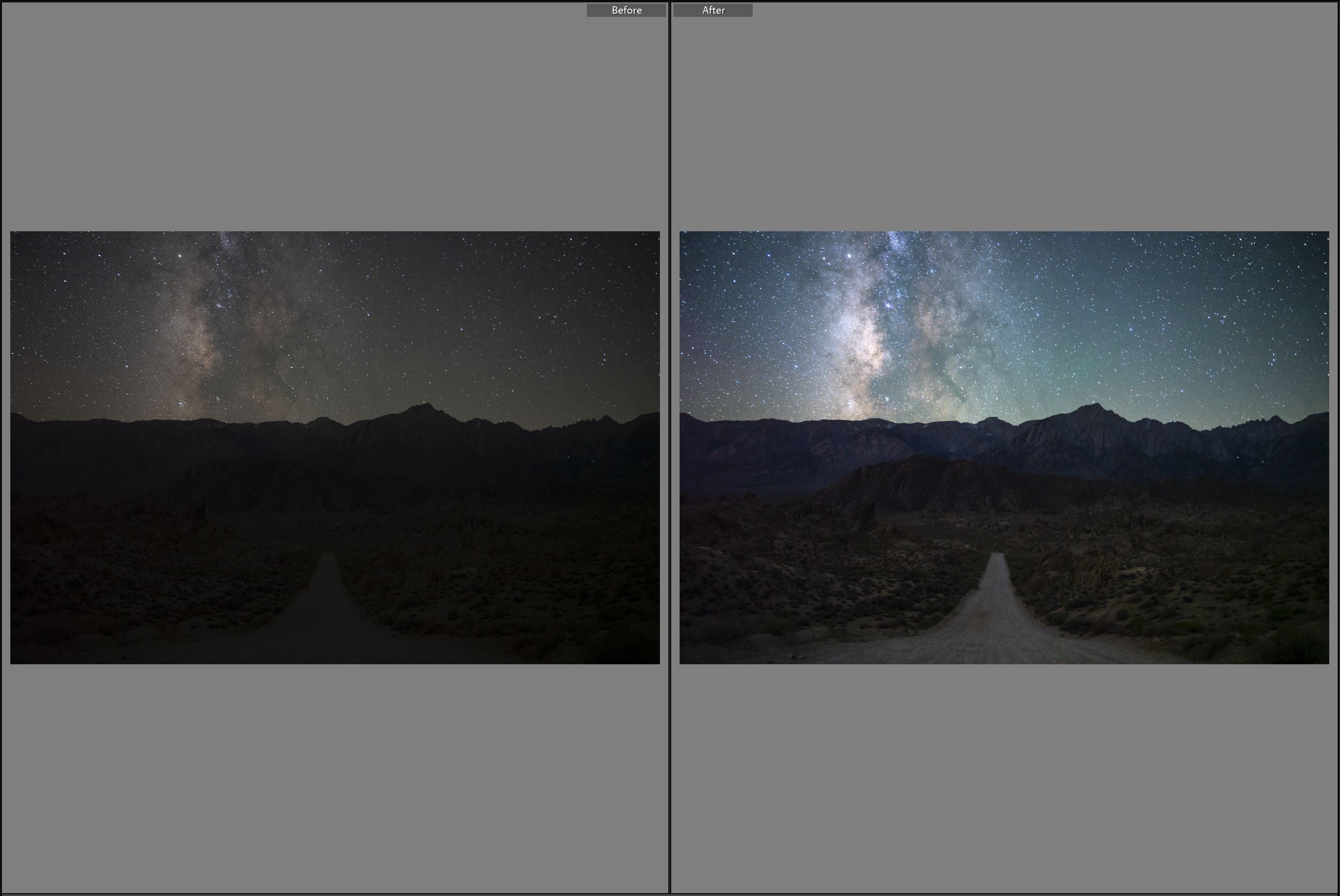 Galactic View - Astrophotography Presets for Lightroom