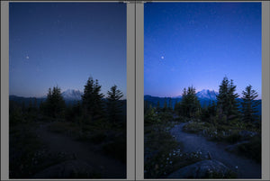 Astrophotography Presets for Lightroom - Starlight & Galactic Preset Collections + Bonus