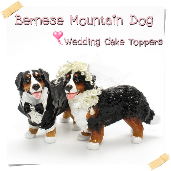 bernese mountain dog wedding cake topper pin bernese mountain cake toppers wedding topper cake 11267
