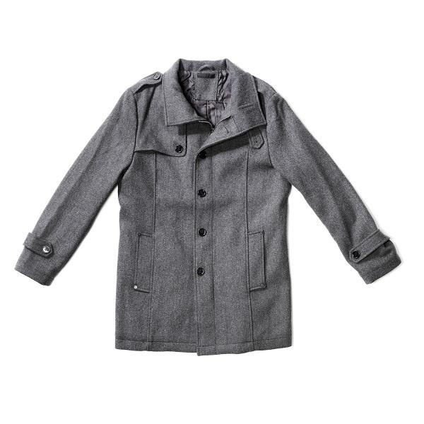 Grey Pea Coat