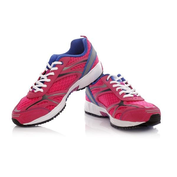 Red Running Shoes