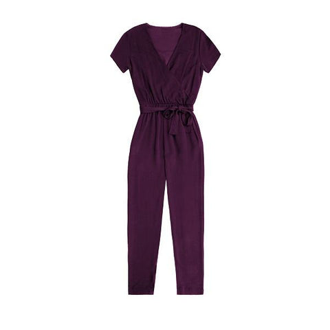 Purple Party Jumpsuit