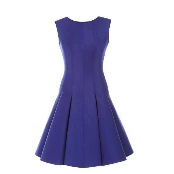 Purple Flared Dress