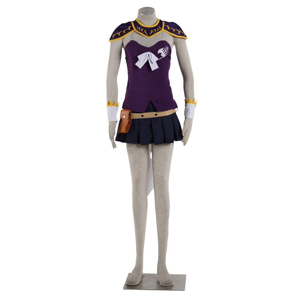 Fairy Tail Cosplay Lucy Heartfilia Purple Cosplay Costumes For