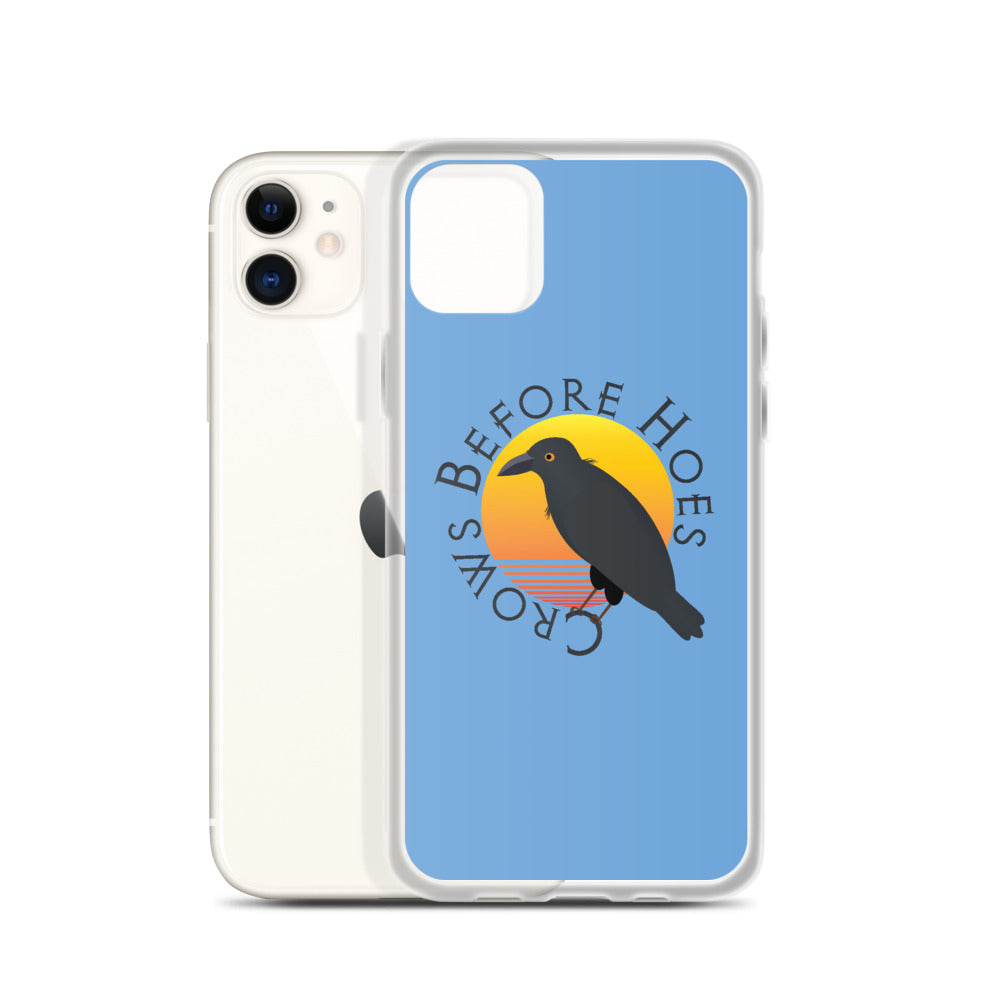 Crows Before Hoes iPhone Case