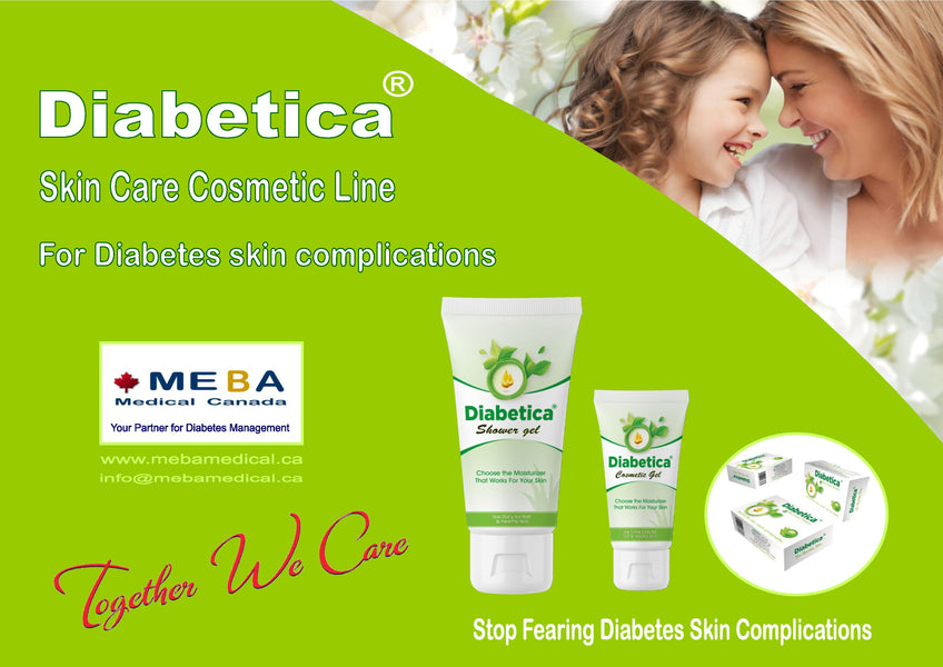 The  advanced formula for Diabetes Skin Care