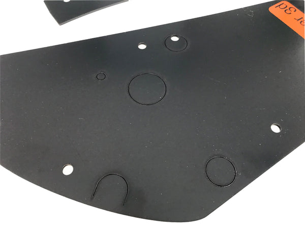 VW Rabbit Hatch Area Forever Panels