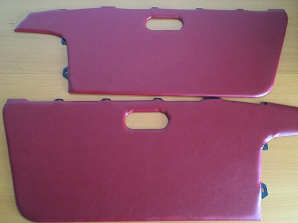Door Panel Vinyl, LE Red, OEM style