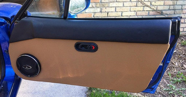 Door Panel Vinyl, Tan, Squareweave