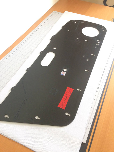 Door Panel Vinyl, Black, OEM Style