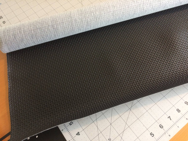 Door Panel Vinyl, Black, Squareweave