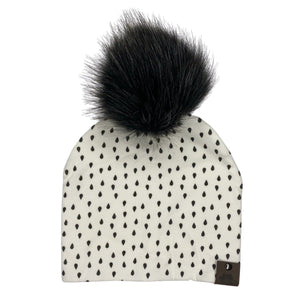 Cotton Printed Pompom Toques - West Coast Zippies