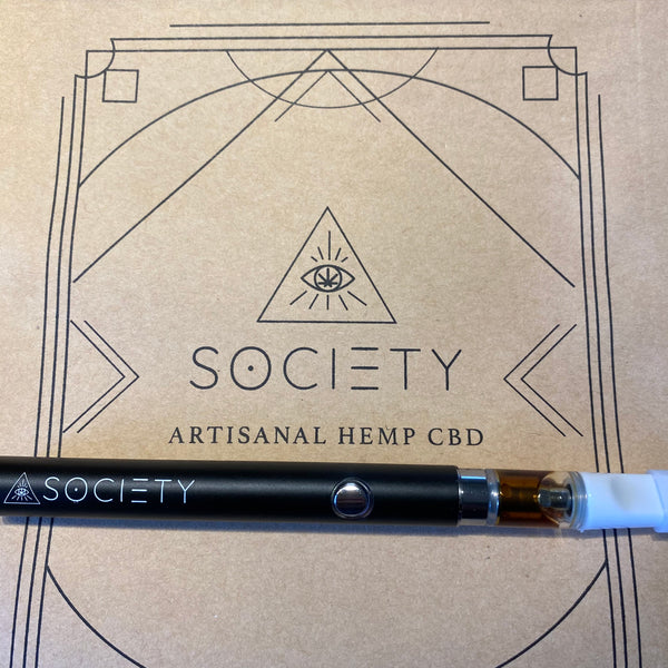 Updates on SOCIETY CBD vape carts & new regenerative packaging