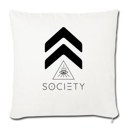 "Throw Pillow Cover 18"" x 18"" - highsocietymama.myshopify.com [hemp_cbd]"