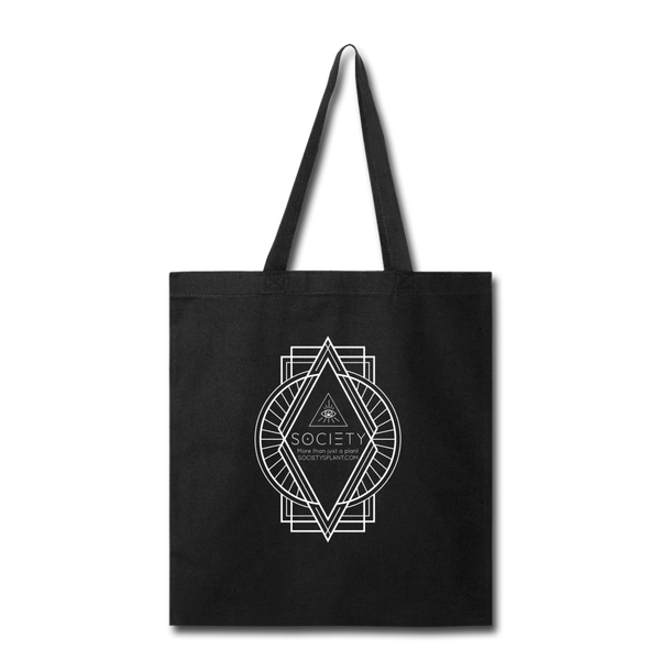 SOCIETY Diamond Tote Bag - black