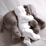 Super Soft Plush Elephant Teddy Sleeping Cushion & Toy