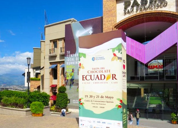CHOCOLATE  EXPO IN CUMBAYA , ECUADOR
