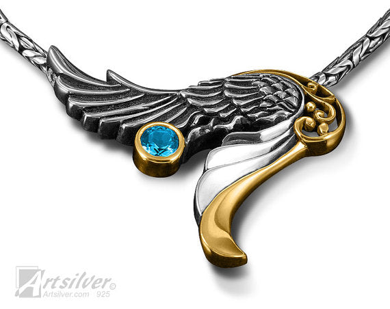 Wings in Open Orientation Style - KS 007
