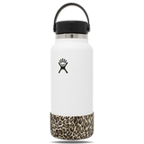 Leopard Boot for Hydro Flask (or similar) 12, 18, 21, & 24 oz Bottles