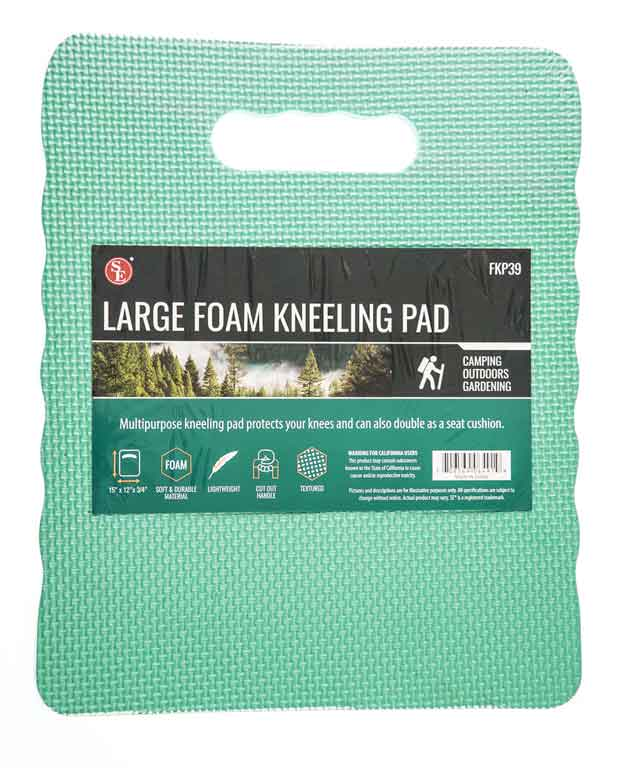 Textured Foam Kneeling Pad - Large by  SE -Sunny Mountain Prospectors
