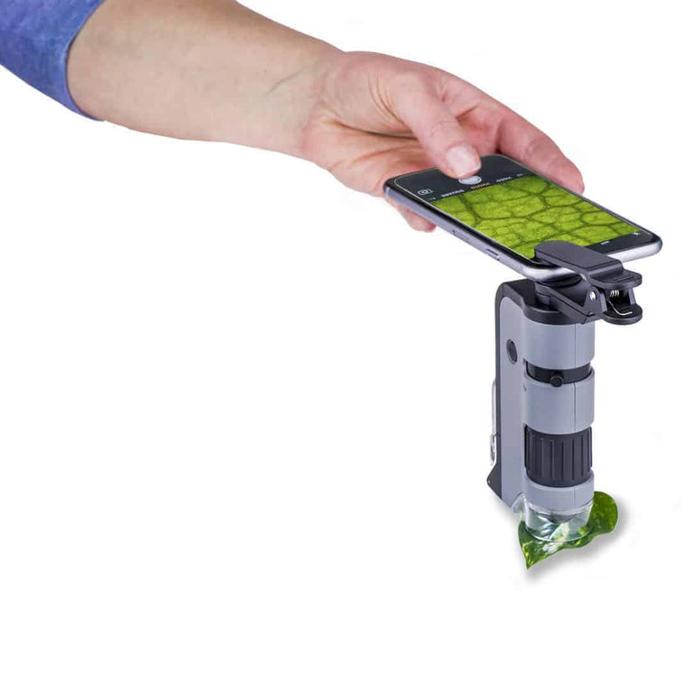 Carson - Carson MicroFlip with Smart Phone Clip - MP-250 - Sunny Mountain Prospectors