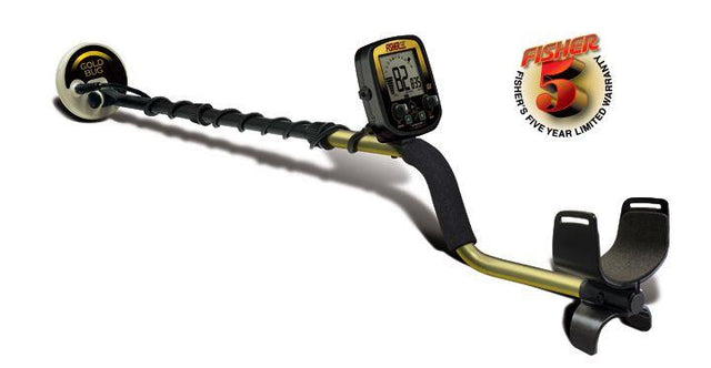 "Fisher - Fisher Gold Bug Metal Detector - 5"" Waterproof Coil - Sunny Mountain Prospectors"