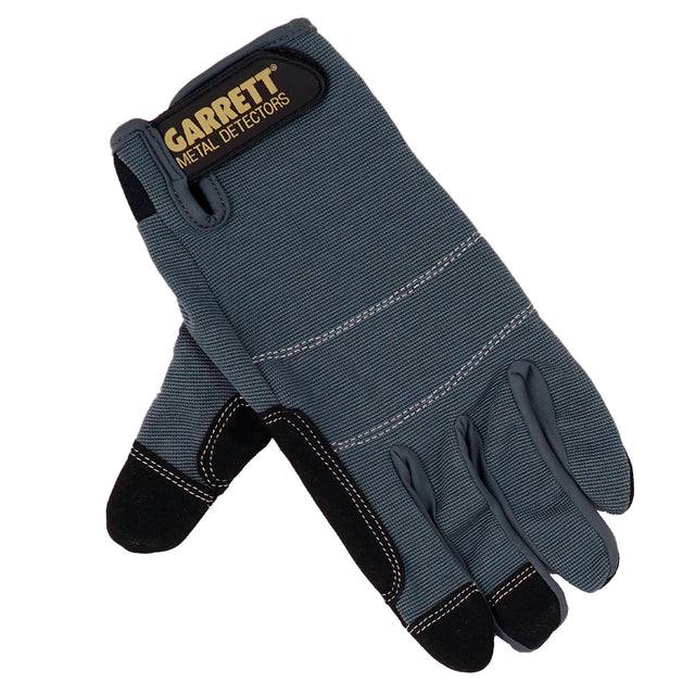 Garrett - Garrett Metal Detecting Gloves, Medium, Large and Extra Large - Sunny Mountain Prospectors