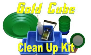 Gold Cube - Gold Cube Clean-Up Kit - Sunny Mountain Prospectors